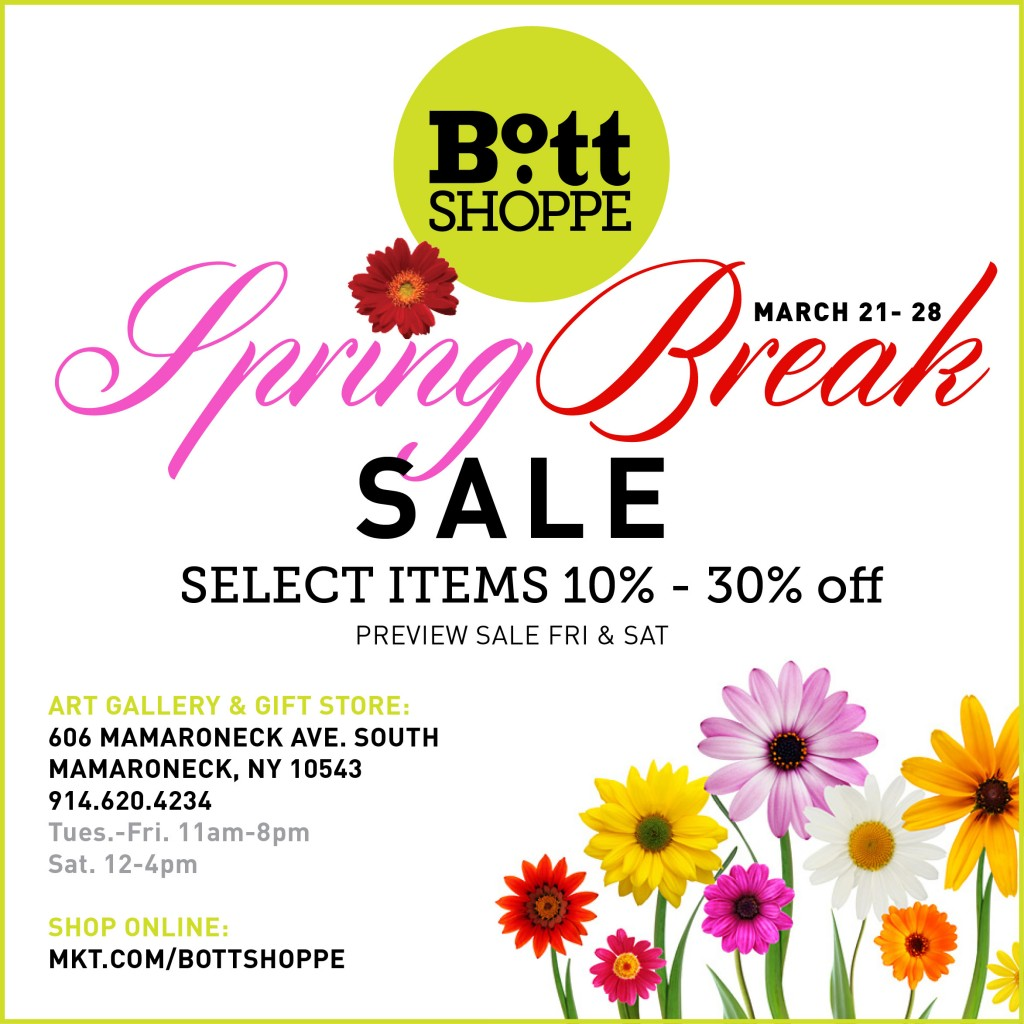 Spring Break Sale 2016 The Bott Shoppe